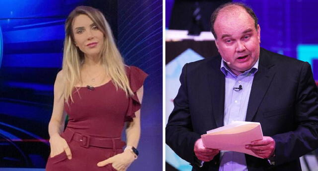 Juliana Oxenford no se calla y le responde a Rafael López Aliaga.