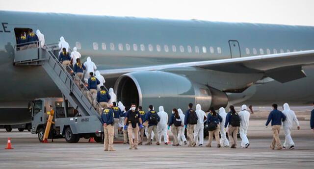 El pasado 10 de febrero se concretó la primera salida masiva de migrantes, expulsados del país.