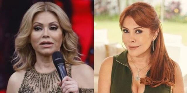 Gisela Valcárcel regresa a las pantallas de América TV y Magaly Medina comenta.