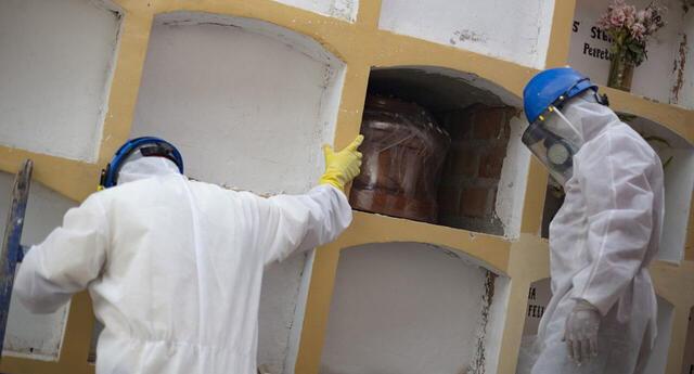 El Ministerio de Salud (Minsa) actualizó cifra de infectados y muertos por coronavirus.