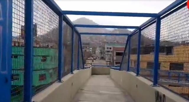 Reconstruyen robo en puente donde murieron dos delincuentes en VMT.