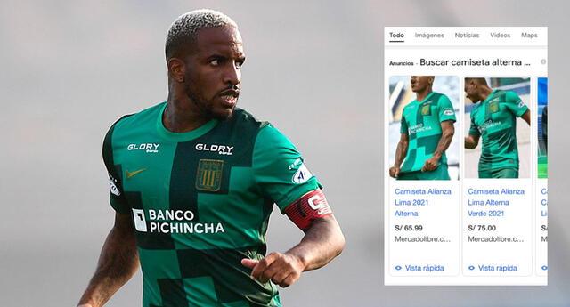 Alianza Lima vende camisetas del debut de Jefferson Farfán y en Internet la piratean