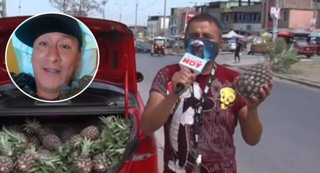 "Jhonny Carpincho, ""hermano"" de la 'Bibi', se reinventa vendiendo frutas [VIDEO]"