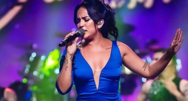La cantante Daniela Darcourt aseguró que extrañaba la magia de presentarse en vivo ante el público, y se mostró optimista de poder volver a hacerlo.