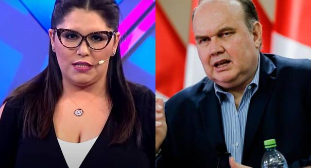 La conductora Lady Guillén se mostró indignada en Twitter con los insultos de Rafael López Aliaga hacia Juliana Oxenford y Mónica Delta.