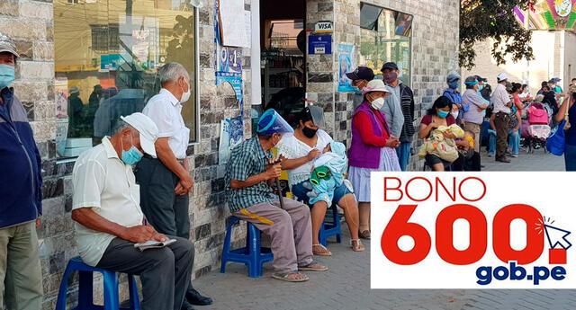 El Bono 600 se está pagando por ventanillas itinerantes.