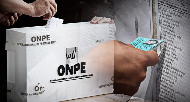 La ONPE dispuso una serie de horarios en las que el ciudadano puede ir a votar para evitar aglomeraciones en los locales de sufragio.
