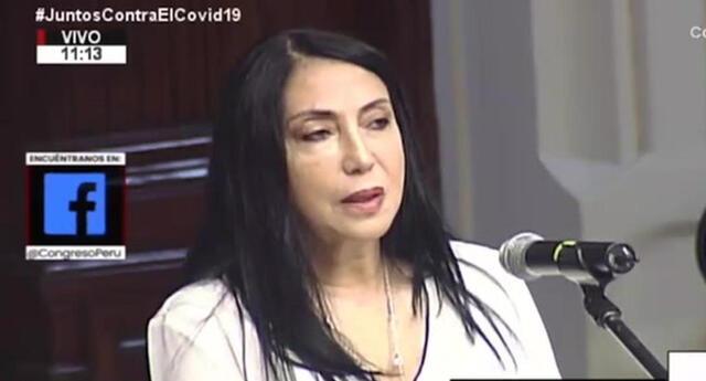 Comisión Permanente del Congreso aprobó este jueves inhabilitar a la excanciller Elizabeth Astete por un año de cargos públicos.