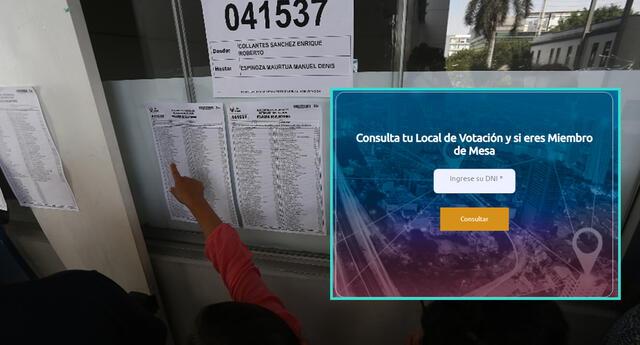 Consulta tu lugar de votación para las elecciones 2021.