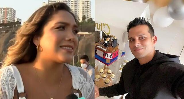 Isabel Acevedo dispuesta a juntarse con Chistian Domínguez en el mismo set de televisión.