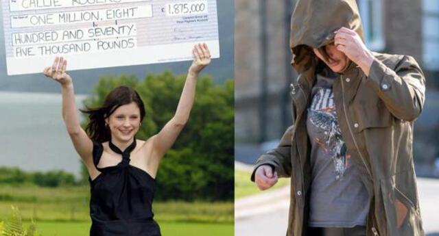 Reino Unido: Callie Rogers, la británica que ganó la lotería a los 16 años y ahora vive de la caridad