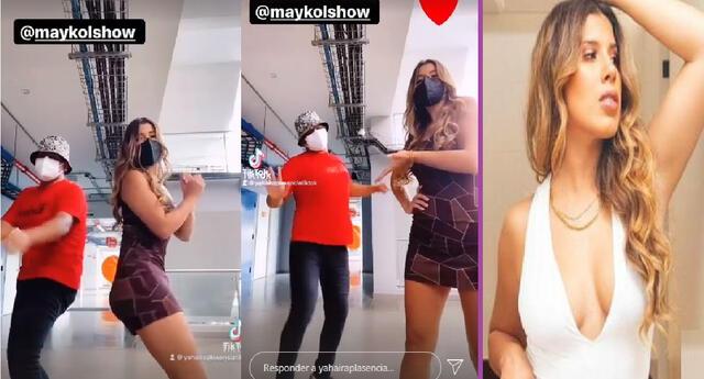 Yahaira Plasencia y Maykol Show bailan al ritmo del Totó.