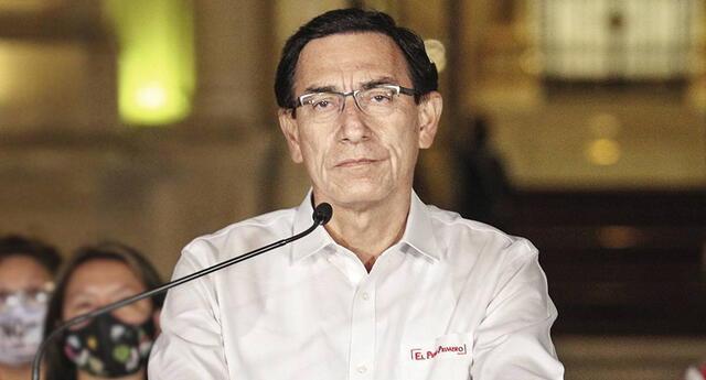 Martín Vizcarra podría ser inhabilitado de participar en cargos públicos por 10 años.