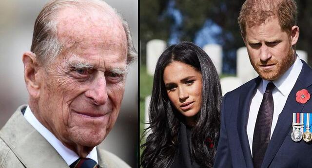 Todavía no se confirma si la pareja estará en el funeral del príncipe Felipe.
