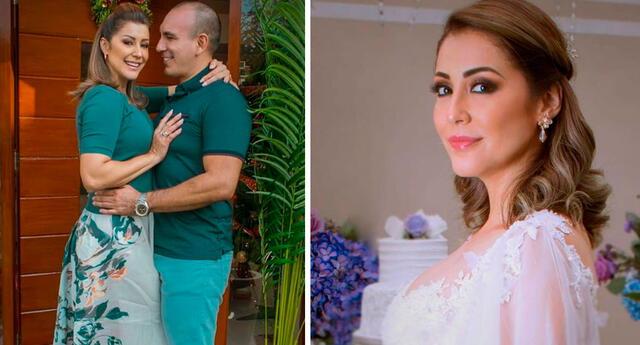 Karla Tarazona afirma que tiene una buena relación con los hijos de su esposo.