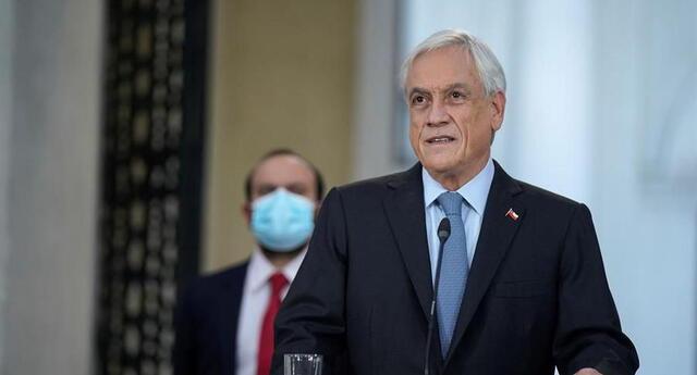 """""""Les pido solidaridad, que no jueguen con sus propias vidas y que cuiden la salud y la vida de sus familias"""", zanjo Piñera."""