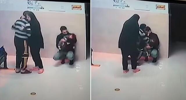 El médico palestino Mujahed Nazzal salvó 'in extremis' a una niña de un año y cuatro meses.