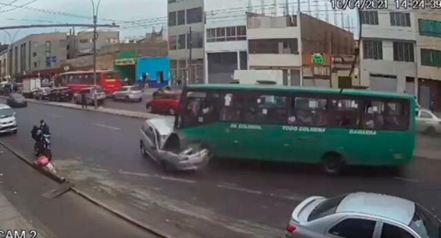 Despiste del bus Urbanito dejó un fallecido y seis heridos