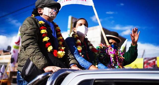 Candidata Verónika Mendoza votará en Cusco