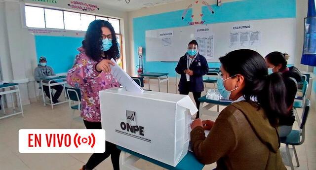 Sigue todas las incidencias de la jornada electora en el Perú.