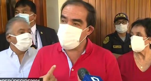 """Yonhy Lescano sobre su desayuno electoral: """"Vamos a cumplir las normas sanitarias"""""""