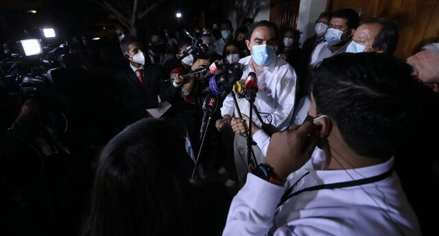 Candidato presidencial se mostró optimista tras conocer los resultados y dijo que está a la espera de las cifras oficiales.