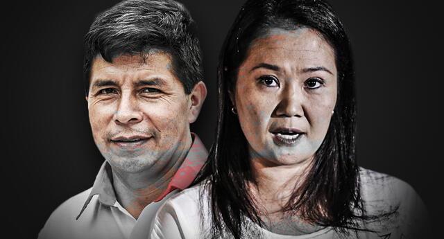 Pedro Castillo y Keiko Fujimori serían los candidatos fijos en la segunda vuelta de estos comicios 2021.