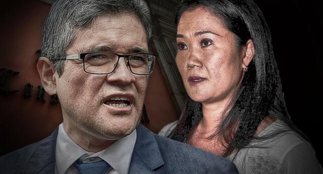 """A través de sus redes sociales, Keiko Fujimori habría realizado """"actos de amenaza"""" contra el fiscal José Domingo Pérez."""