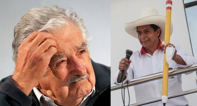 Pepe Mujica se pronunció sobre la segunda vuelta en Perú con Pedro Castillo como uno de los candidatos.
