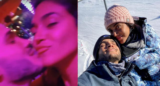 Vania Bludau y Mario Irivarren celebran con romántico video el Día Internacional del Beso.
