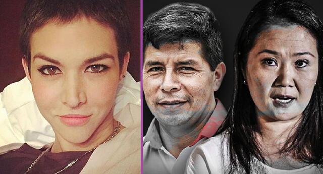 Anahí de Cárdenas envía contundente mensaje a Keiko Fujimori y Pedro Castillo.