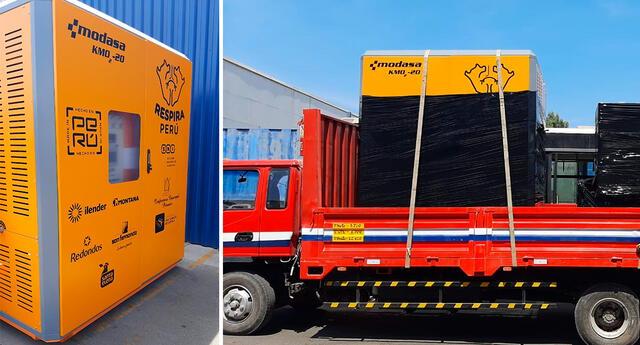 Respira Perú informó que otras cuatro plantas de oxígeno se encuentran actualmente en producción y pronto serán enviadas a Lima, Piura, Ancash y Loreto.