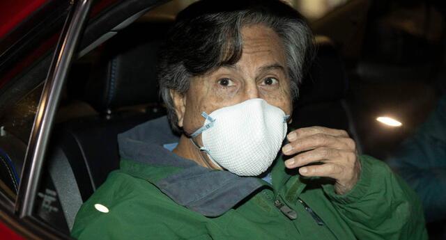 El expresidente Alejandro incumplió el arresto domiciliario pese a que lleva un dispositivo de GPS para su control.