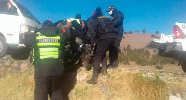El accidente es investigado por el Ministerio Público y la Policía a fin de conocer sus causas.
