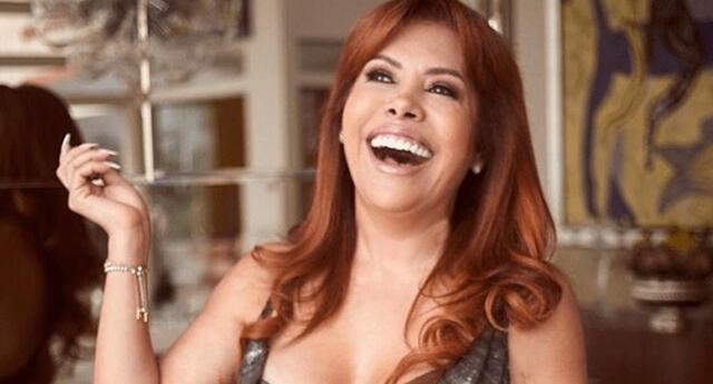 Magaly Medina es líder de audiencia en su franja horaria y espectáculos.