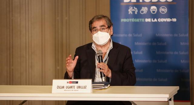 El ministro de Salud se pronunció sobre la preocupación de los peruanos en medio de la pandemia.