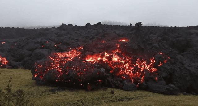 Erupción del volcán Pacaya