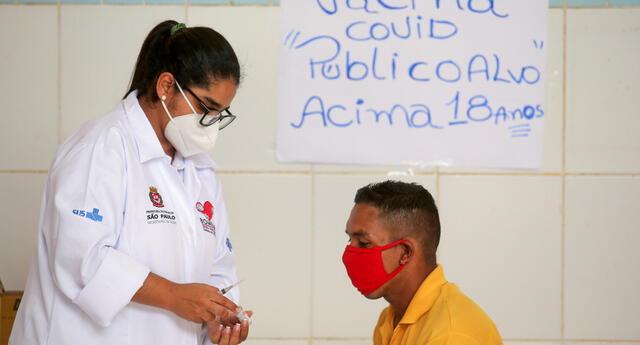 Brasil: vacunan por error a más de 150 personas, entre ellas  niños y embarazadas,  contra la COVID-19.