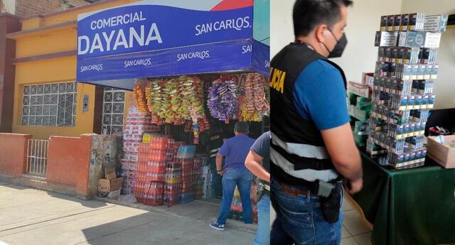 Los policías descubrieron los cigarrillos de procedencia paraguaya