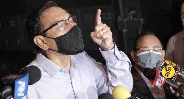 Martín Vizcarra responde que presentará medida de amparo ante el Poder Judicial.