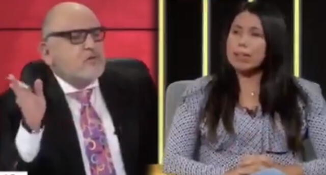 Zaira Arias, virtual congresista por Perú Libre, respondió y llamó miserable a Beto Ortiz durante su programa en vivo.