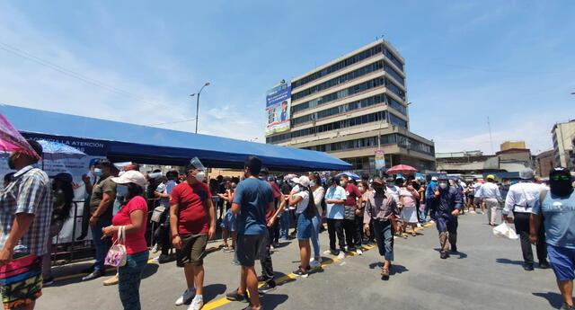 Atención presencial en Lima, Callao se suspenderá desde este lunes 19 de abril.