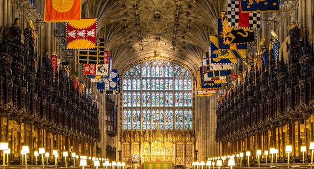 Los restos mortales del esposo de la Reina Isabel II, duque de Edimburgo, serán depositados en el panteón real bajo la capilla de San Jorge.
