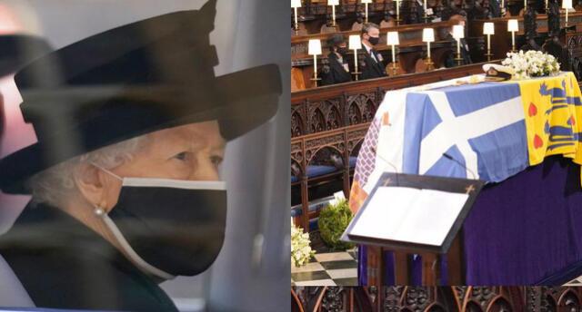 Reina Isabel II da último adiós al príncipe Felipe: Las imágenes más significativas del funeral