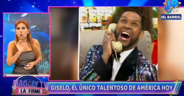 """Magaly Medina sobre 'Giselo' en 'América Hoy': """"El único talento que existe en ese programa"""""""