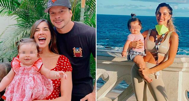 Korina Rivadeneira impactada con el crecimiento de su hija.