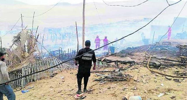 incendio deja a 51 familias damnificadas