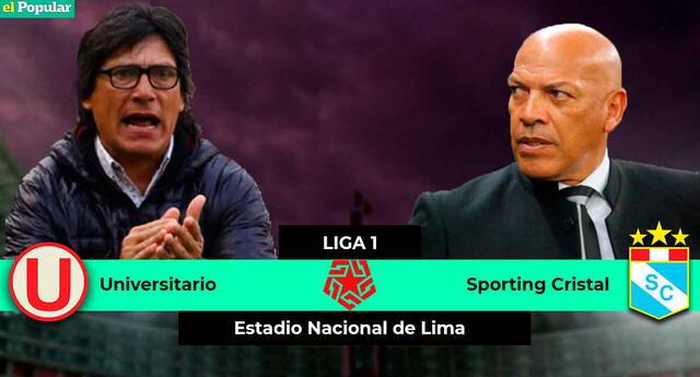 Universitario de Deportes y Sporting Cristal arman el clásico de la Fecha 5.