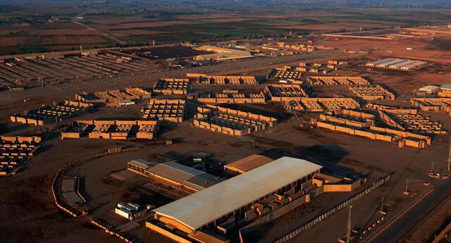 Base aérea de Balad en Bagdad, Irak.