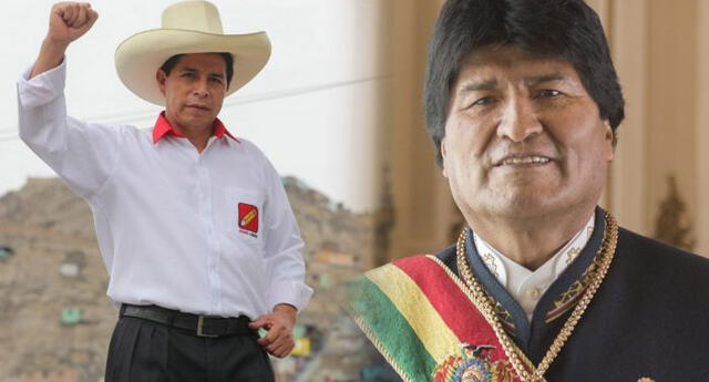 El expresidente de Bolivia, Evo Morales, volvió a felicitar este sábado 17 de abril al candidato de Perú Libre, Pedro Castillo.